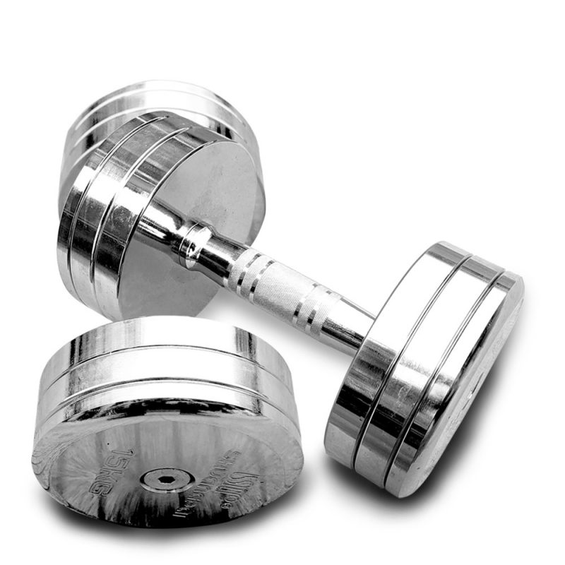 JMQ Fitness Solid Steel Dumbbells Dumbbell Home Gym Weight Training