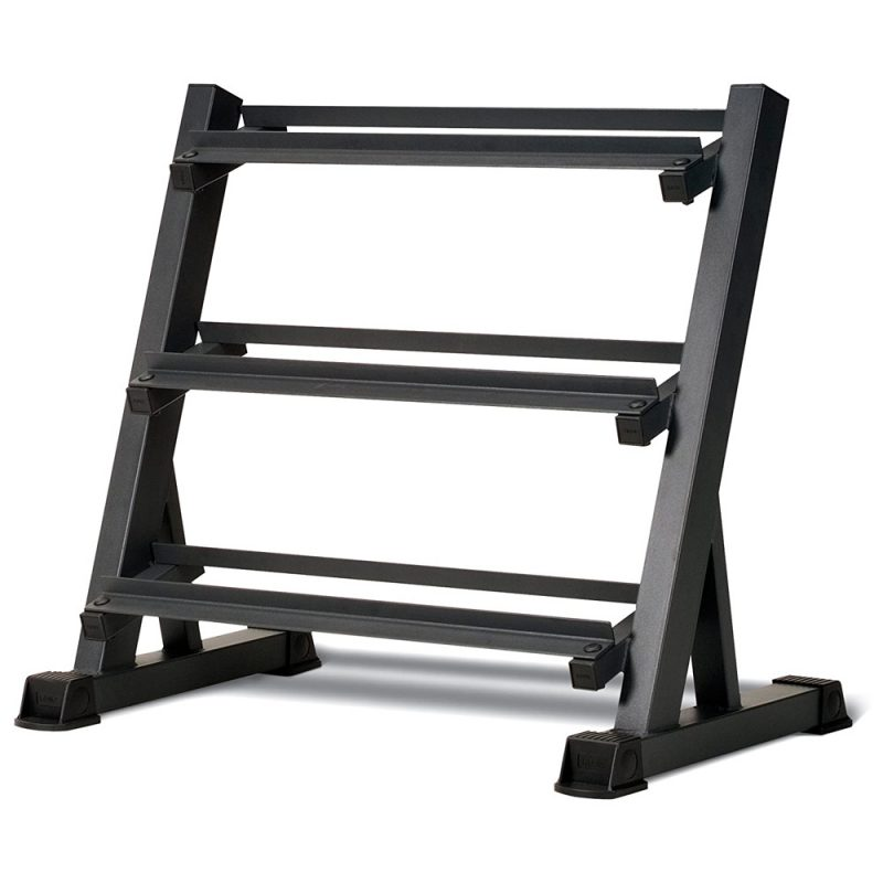 JMQ Fitness Three Layers Dumbbell Rack Holder Stand