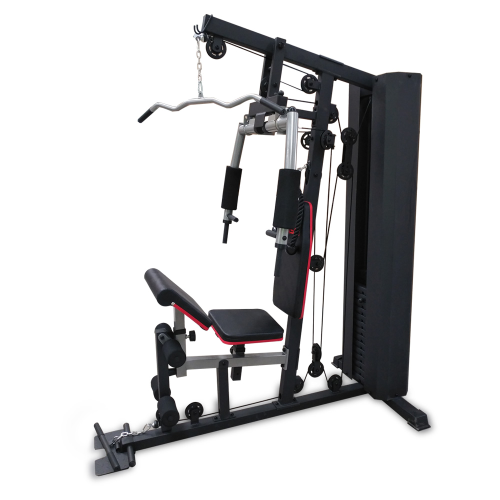 JMQ Fitness RBT5100 Multifunction Fitness Station Home Gym System Weight Training