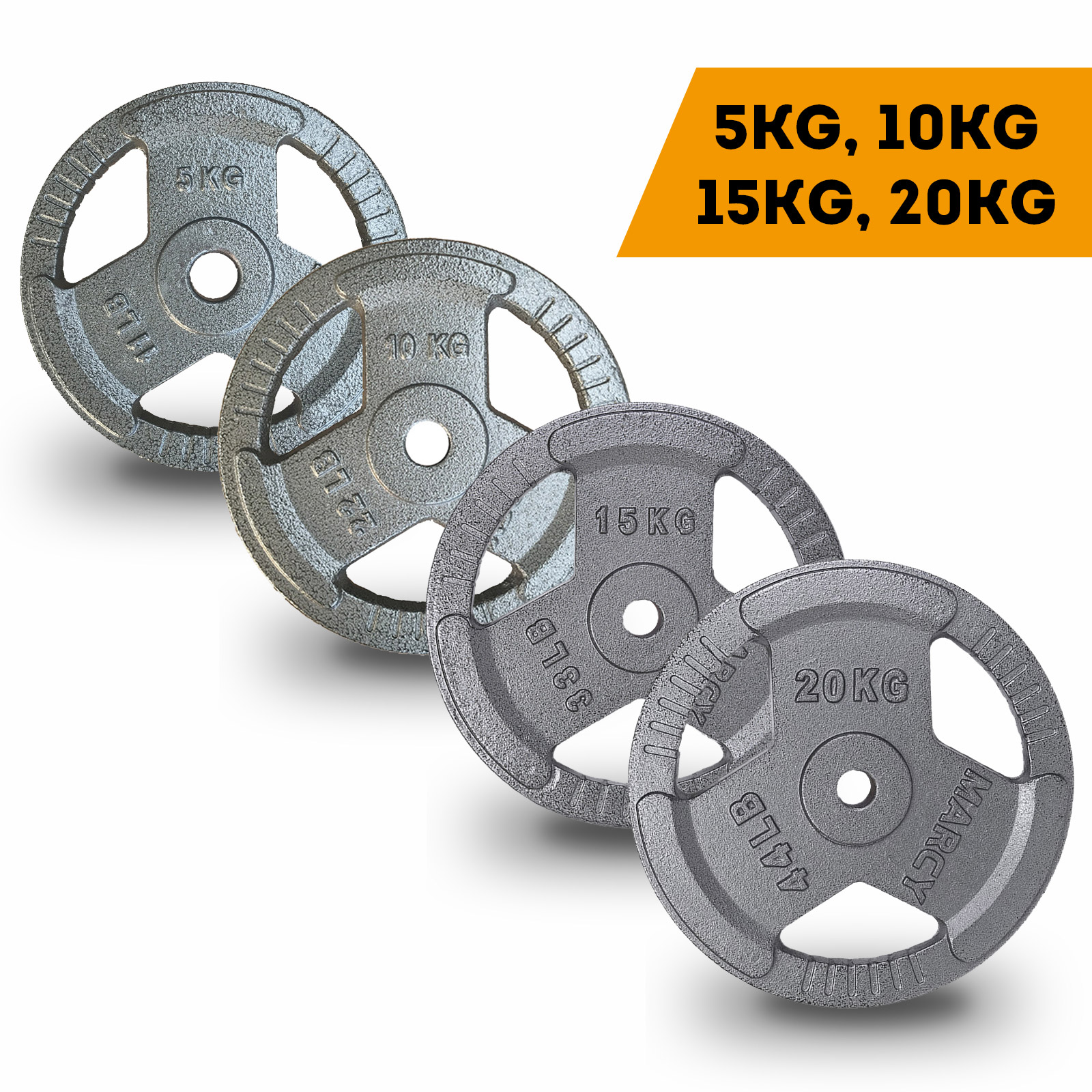Standard Weight Plate for Barbell Dumbbell Home Gym Lifting Training