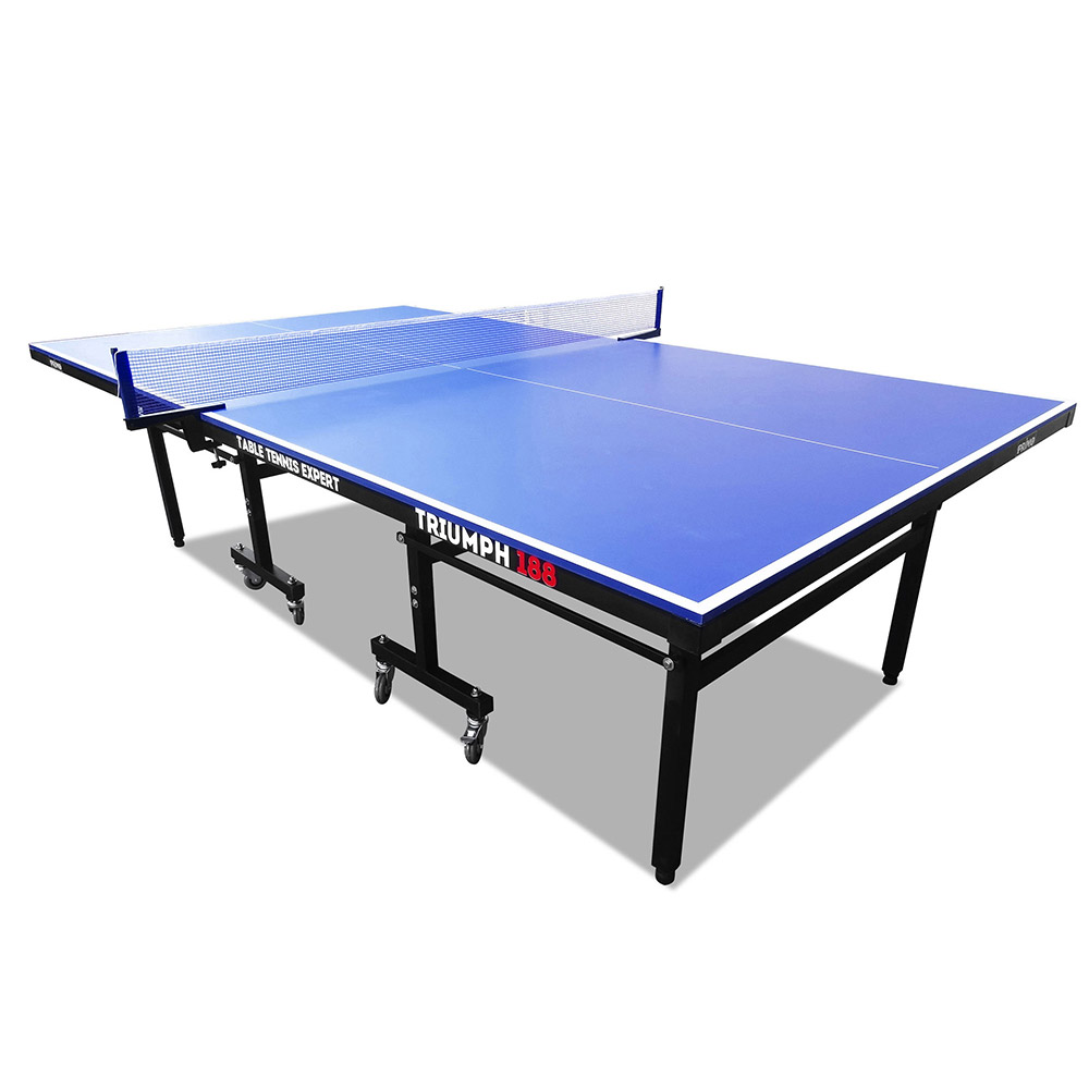 PRIMO Triumph 188 Pro Size Outdoor Table Tennis Ping Pong Table Free Bats Balls Net
