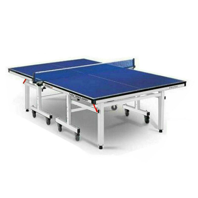 Primo Indoor Optimal 16 Table Tennis Ping Pong Table with Accessories Package