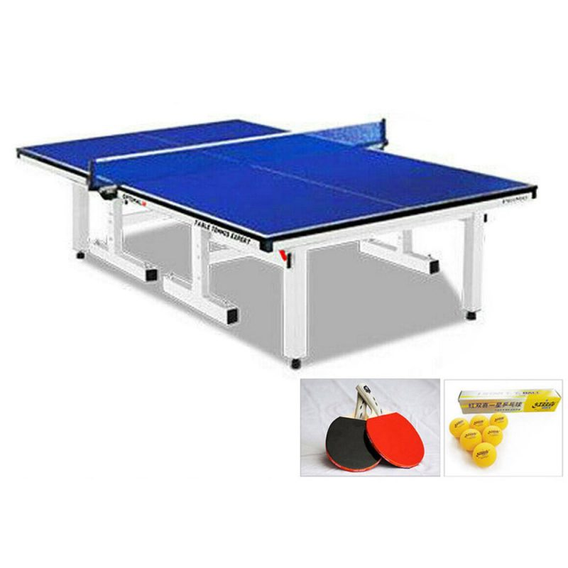 PRIMO 25mm Table Tennis Table Ping Pong Table with Upgraded Accessories Package