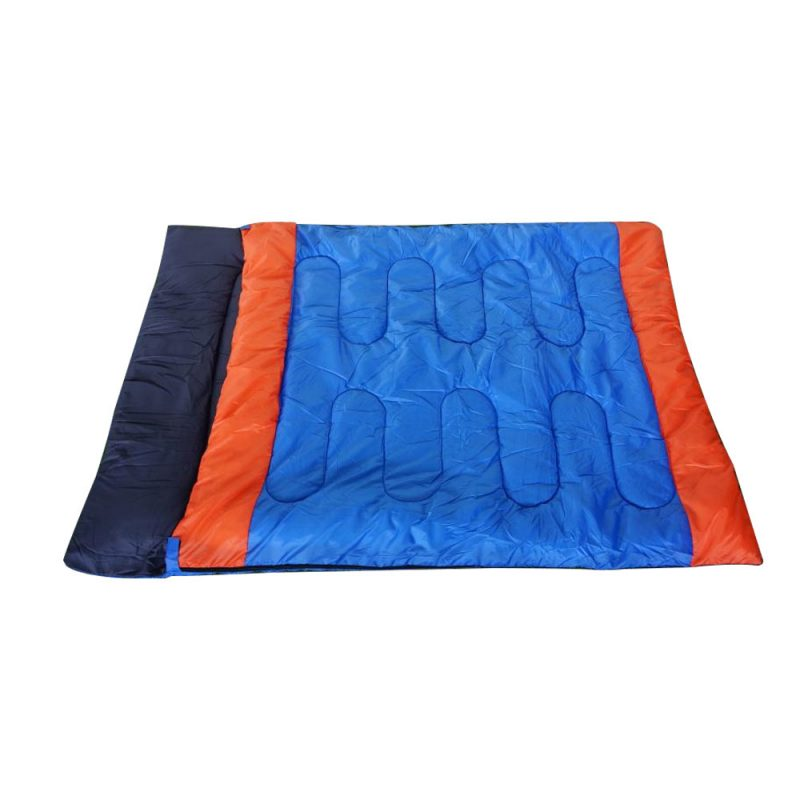 HY007 Double Sleeping Bag Bags Outdoor Camping Hiking Thermal Tent 210x150cm