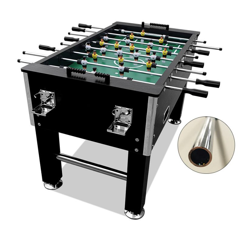 5FT Foosball Soccer Table with Hollow Steel Rods