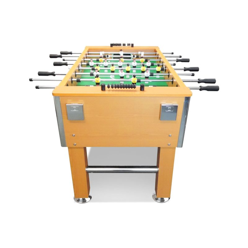 5FT Foosball Soccer Table with Solid Steel Rods