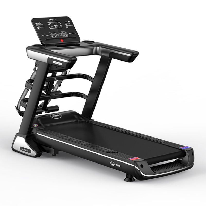 JMQ A9 Electric Treadmill Multi-functional Bluetooth Fitness Machine Home Gym