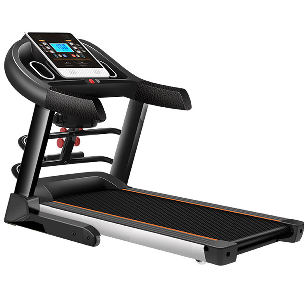 JMQ Fitness T600 2.0HP Foldable Electric Treadmill Bluetooth w/ Multifunctional Accessories Home