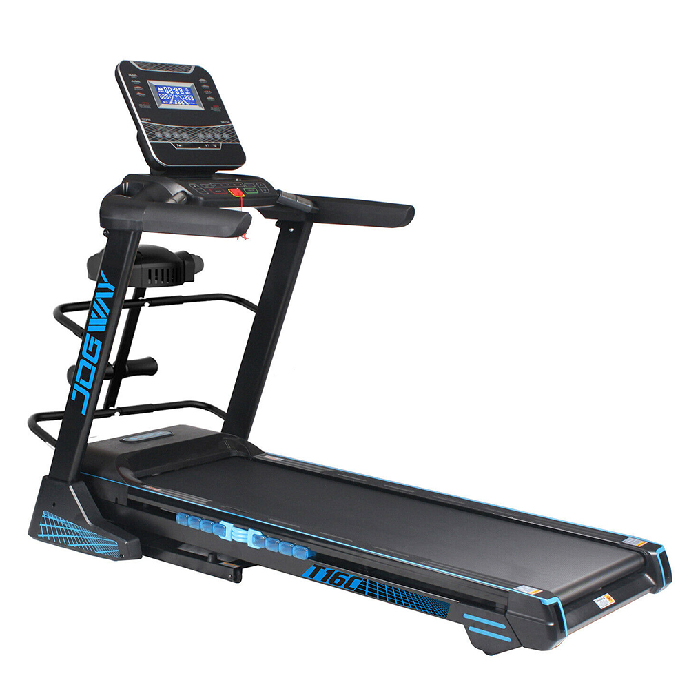 Jogway T16CLM 3.5HP Foldable Electric Treadmill Home Fitness Auto Incline MP3