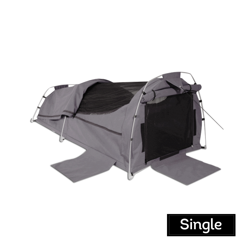 Swag Camping Swags 14oz poly/cotton Canvas High Tensile